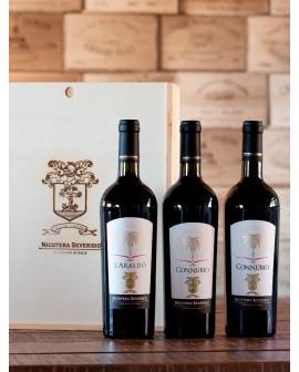 L'Araldo Vino Rosso, Indicazione Geografica Tipica Calabria, Varietà: Magliocco – Greco Nero - Calabrese